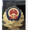 做烤漆警徽厂家 2米警徽 哪里销售 金属工艺品现货供应