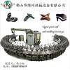 PU皮涼鞋沙灘鞋拖鞋自動發泡生產線 Pu自動灌注發泡機